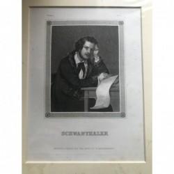 Schwanthaler - Stahlstich,...
