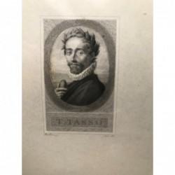 T. Tasso - Stahlstich, 1841
