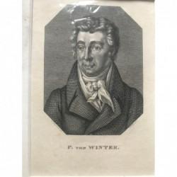 P. von Winter - Stahlstich,...
