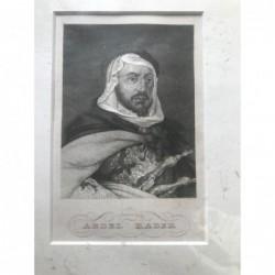 Abdel Kader - Stahlstich, 1850