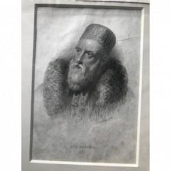 Ali Pascha - Stahlstich, 1880