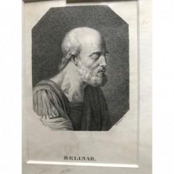 Belisar - Punktierstich, 1850