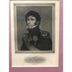 Bernadotte - Stahlstich, 1850
