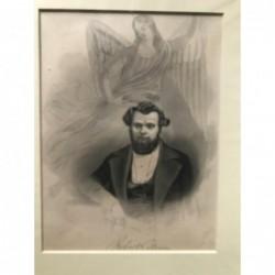 Robert Blum - Stahlstich, 1850