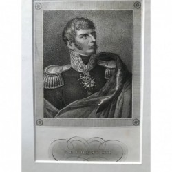 Chlopicki - Stahlstich, 1850