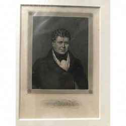 O 'Connell - Stahlstich, 1850