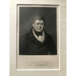 O' Connell - Stahlstich, 1850