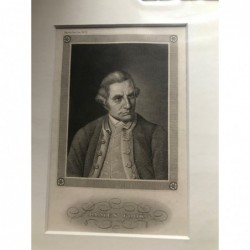 James Cook - Stahlstich, 1850