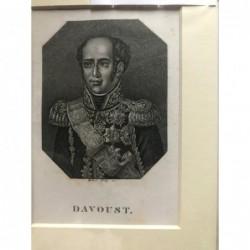 Davoust - Punktierstich, 1850