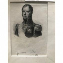 Michel Ney - Stahlstich, 1850