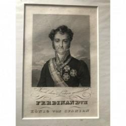 Ferdinand VII., König von...