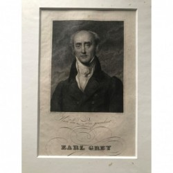 Earl Grey - Stahlstich, 1850