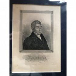 Lafayette - Stahlstich, 1850
