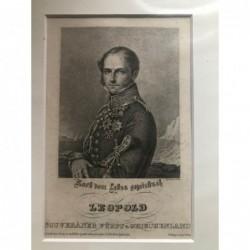 Leopold, souveräner Fürst...