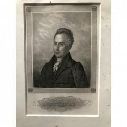 Lindenau - Stahlstich, 1850